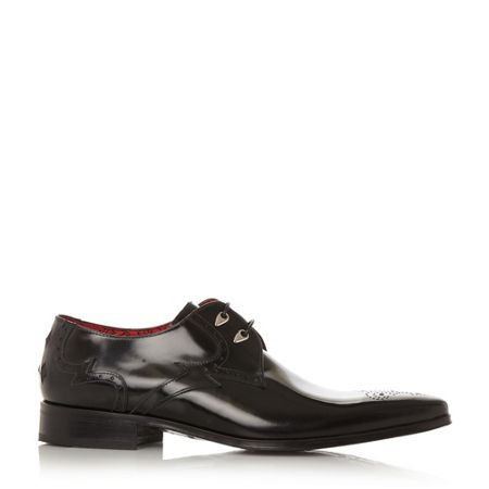 Jeffery West Jb06 tooth eyelet gibson shoes