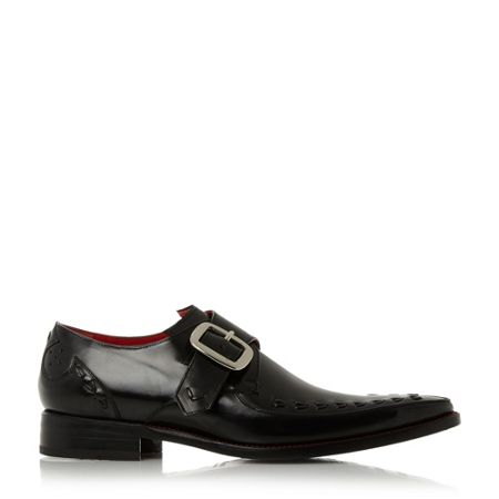 Jeffery West Twist single monk shoes