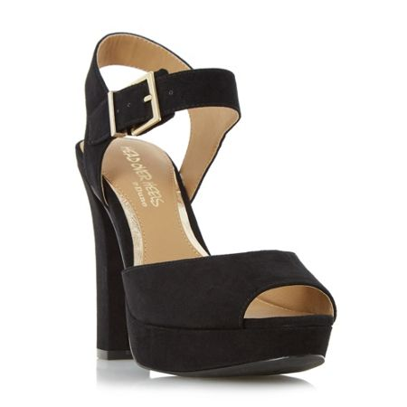Head Over Heels Myli two part platform sandals