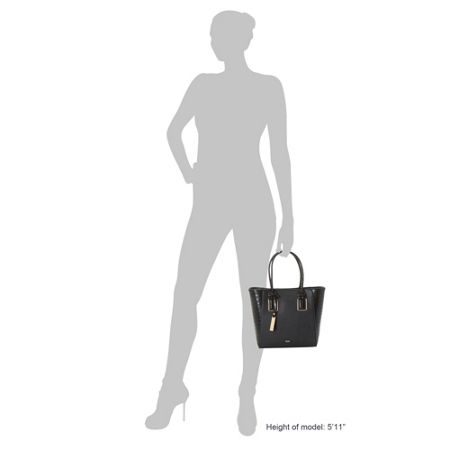 Dune Damazing winged shopper bag