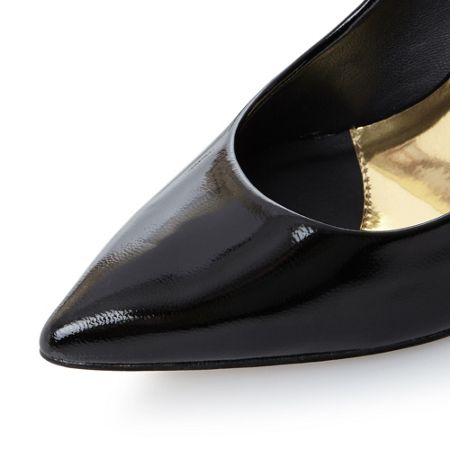 Ted Baker Saviy high back pointed court shoes