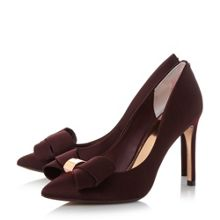 Ted Baker Ichlibi* satin bow court shoes