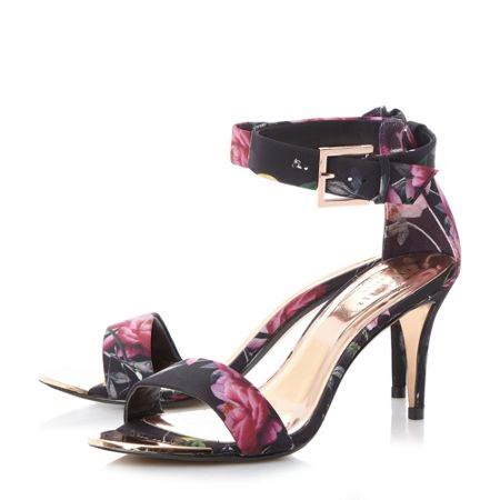 Ted Baker Blynne floral 2 part sandals