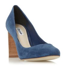 Dune Alaska round toe stacked heel courts