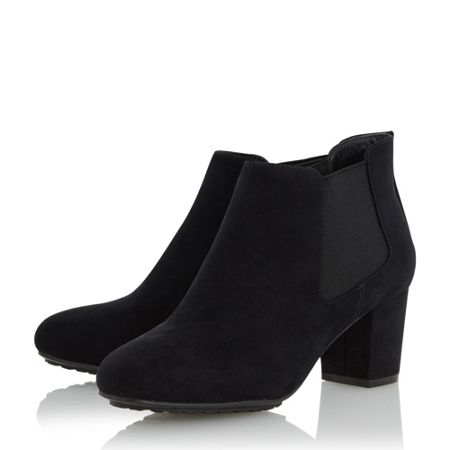 Linea Oma block heel ankle boots