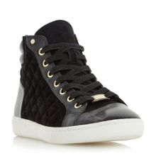 Dune Entourage hi top trainers