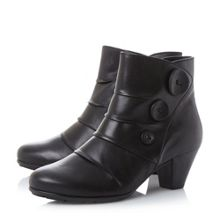 Gabor Spiritual button detail ankle boots