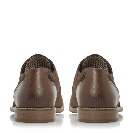 Howick Babbits mixed material gibson shoes