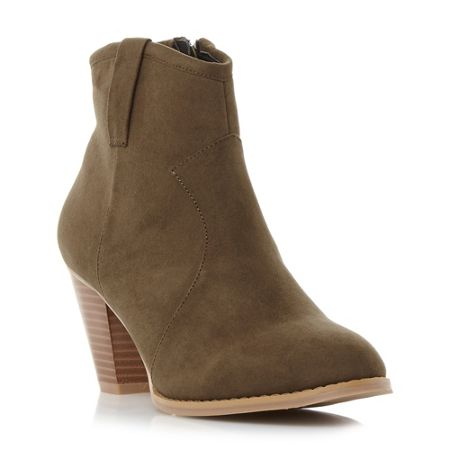 Head Over Heels Pacha western detail ankle boots