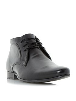 Military lace up formal boots