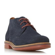Dune Clay brick sole chukka boots
