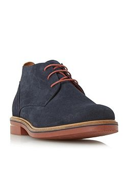 Clay brick sole chukka boots