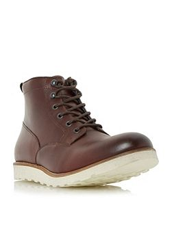 Conrad wedge sole lace up boots