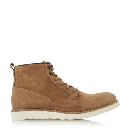Dune Conrad wedge sole lace up boots