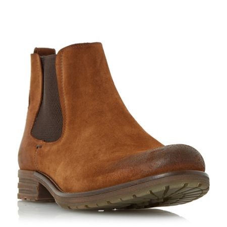 Dune Crusher Rugged Chelsea Boots