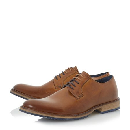 Dune Bunker cleated sole gibson shoes