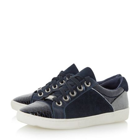 Dune Euston lace up trainers