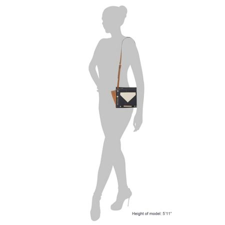 Head Over Heels Hadeley winged pocket cross body bag