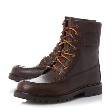 Polo Ralph Lauren Flaxby heavy ankle boots