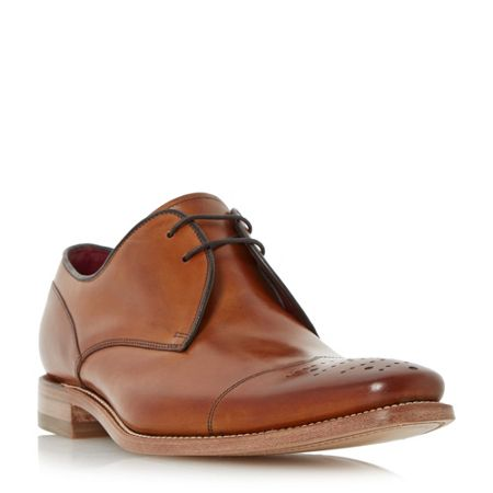 Loake Crawford punched toecap gibson shoes