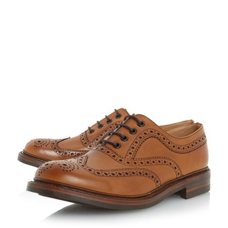 Loake Edward traditional leather brogue shoes