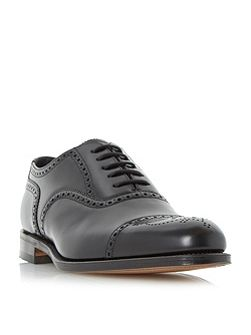 Overton oxford semi brogue shoes