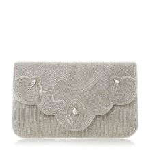 Dune Ekelly beaded clutch bag
