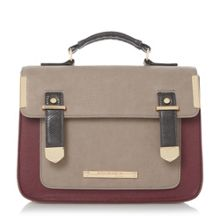 Head Over Heels Hula colour block satchel