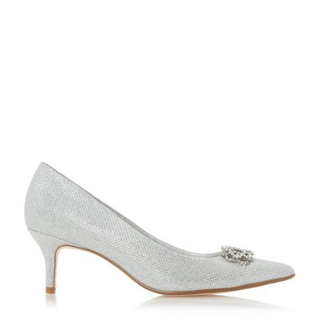Linea Bluma embellished court shoes