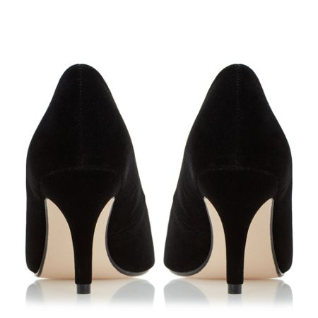Linea Darnley peep toe mid heel court shoes