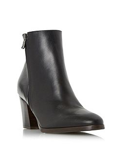 Panama side zip ankle boots
