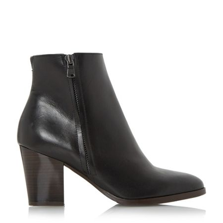 Dune Panama side zip ankle boots
