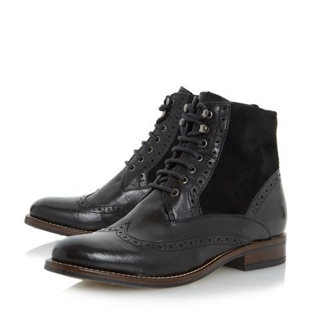 Dune Philomen lace up ankle boots