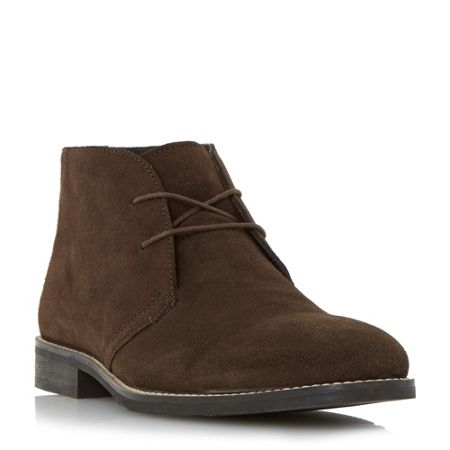 Howick Coalman round toe lace up boots