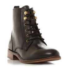 Dune Quincey lace up ankle boots