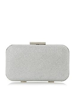 Belisse hard case clutch bag
