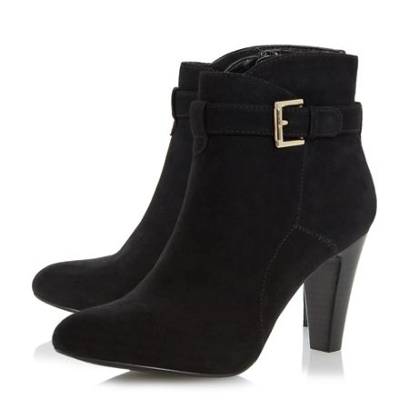 Linea Odesa buckle strap ankle boots