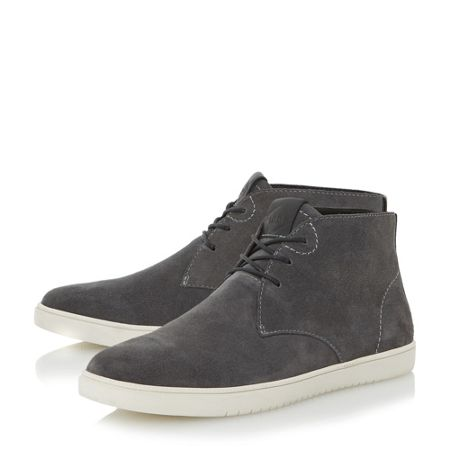 Dune Shoreditch high top lace up trainers