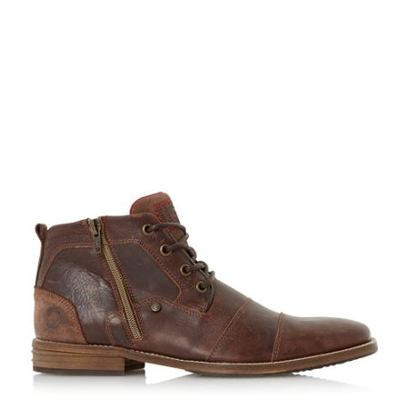 Dune Captains Double Lace Up Boots