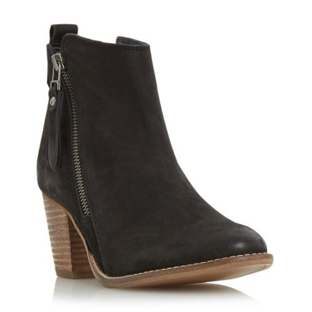 Dune Pontoon side zip boots