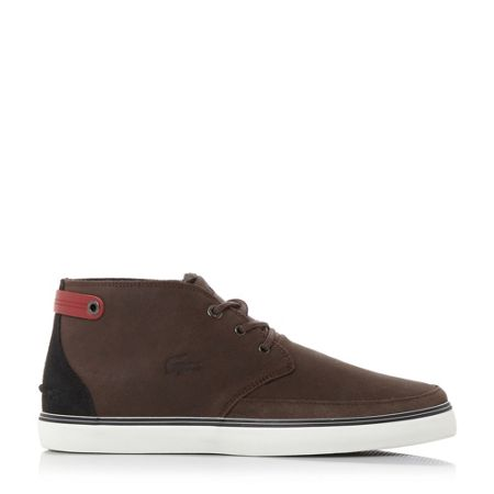 Lacoste Clavel 17 warm lined hi top trainers