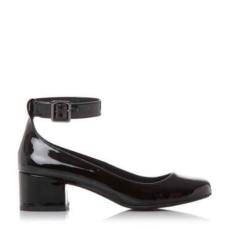 Steve Madden Wails block heel court shoes