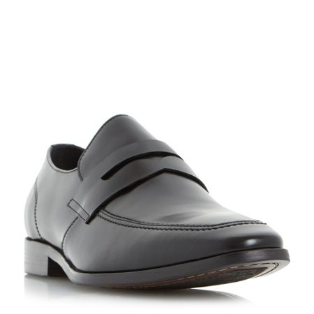 Dune Raleighs chisel toe saddle loafers