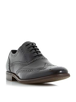 Rugby oxford brogue shoes