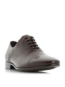 Rubicon round toe cap oxford shoes