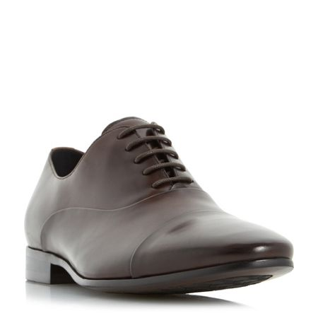 Dune Rubicon Round Toe Cap Oxford Shoes
