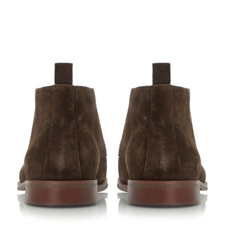 Dune Murray Two Toned Lace Up Chukka Boots