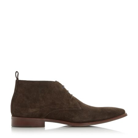 Dune Murray Two Toned Lace Chukka Boots