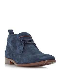 Murray Two Toned Lace Up Chukka Boots