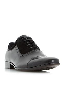 Resolute Suede and Leather Oxford Shoes